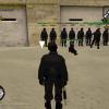 Sena sena, swat komanda Mafijos_Tevuko, Compadres, akimirką.