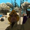 Du gaisrininkai ir pamainos vadas