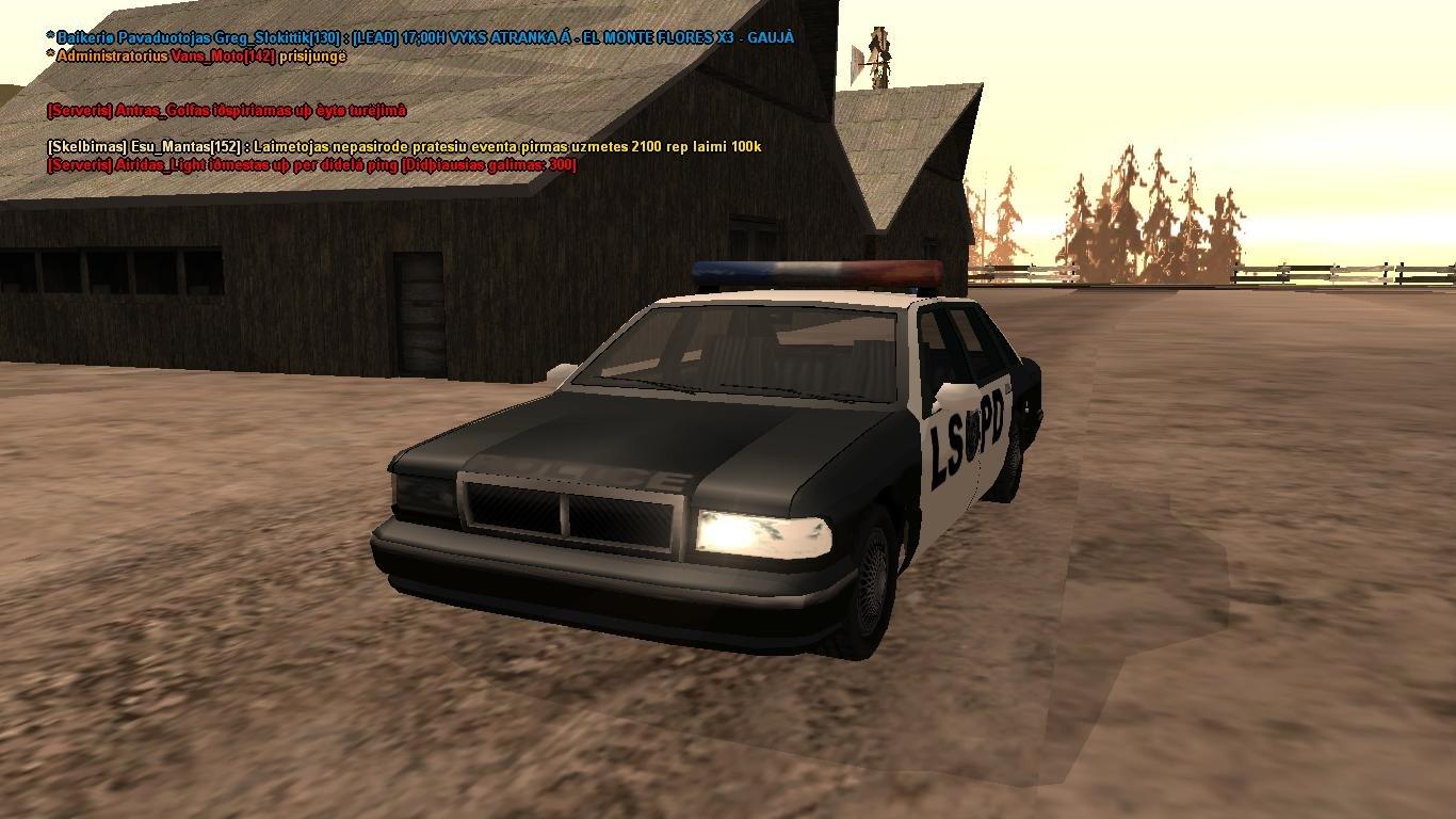 Policijos mašina