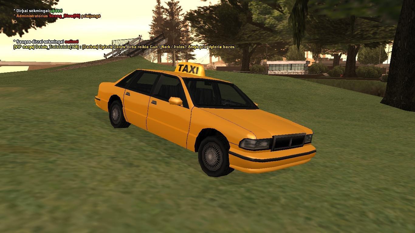 Taxi mašina