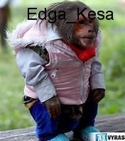 Mūsų Edga bezdžioniukas