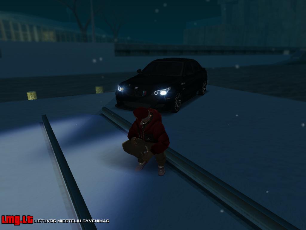 Vakaras su BMW M5 E60